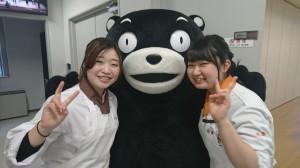 4くまモンと学生