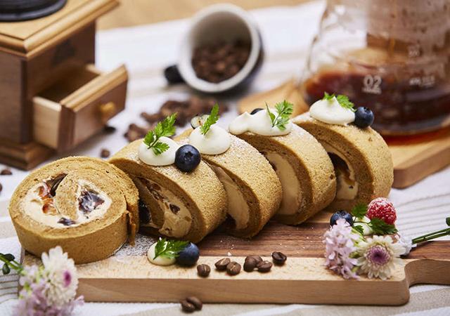 バリスタだから作れる!!ドリップコーヒーから作るオシャレなロールケーキのイメージ