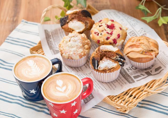 おしゃれカフェで大人気のマフィンを作ってみようのイメージ