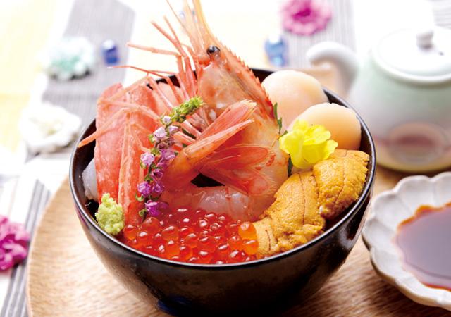 北海道食材で作る海鮮丼!のイメージ