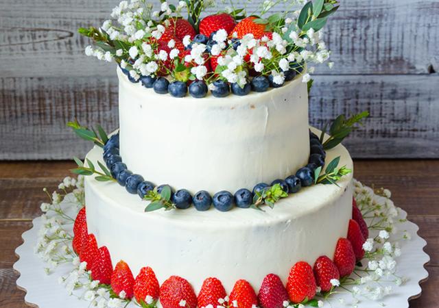 おしゃれ花嫁がオーダーする♪ウェディングケーキのイメージ